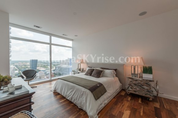 W Residences 45 Ivan Allen Penthouse 2706 Bedroom