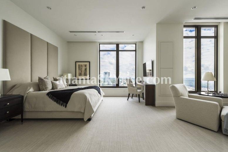 Mandarin Oriental Residences Atlanta Unit 39 Master Bedroom 2