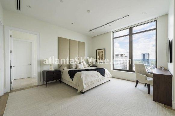 Mandarin Oriental Residences Atlanta Unit 39 Master Bedroom 3
