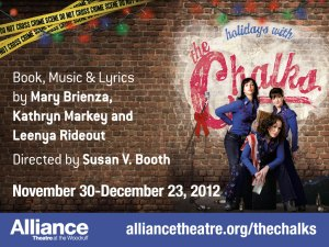 Holidays with The Chalks at the Alliance Theatre