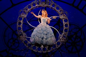 Wicked cast member Amanda Jane Cooper as Glinda