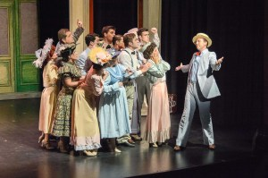 The Cast of the Music Man. Photo by Steve Thrasher