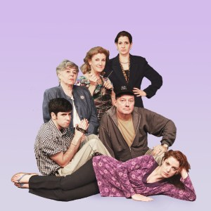 The cast of Atlanta's Essential Theatre Festival's production of Evelyn in Purgatory