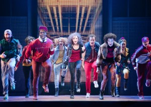 The cast of Flashdance the Musical. Photo by Kyle Froman
