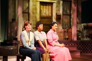 Rachel Garner, Naima Carter Russell and Minka Wiltz. Photo by Chris Bartelski