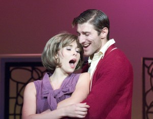 Anna Kimmell and Maxim Gukhman in Glimpses of the Moon