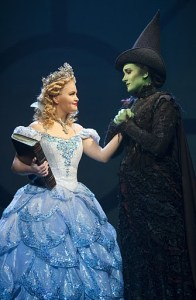 Amanda Jane Cooper and Dee Roscioli star in the First National Tour of Wicked. Photo by Joan Marcus