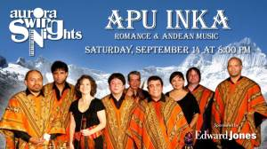 Apu Inka at Aurora Swing Nights