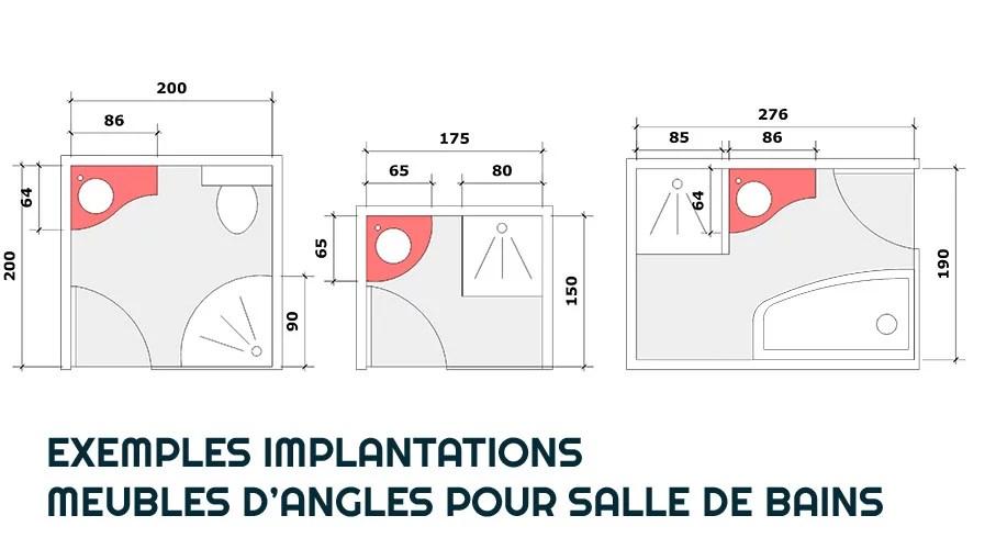 16 Exemples De Meubles En Angle Pour Salle De Bain Partie 1