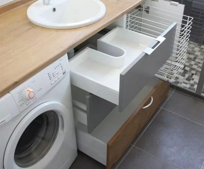 Comment Cacher Votre Lave Linge 12 Designs De Meubles Pour Recouvrir Votre Machine A Laver Atlantic Bain
