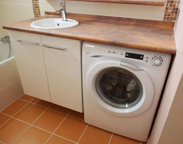 Plus Simple Et Plus Pratique Le Lave Linge Sous Le Meuble