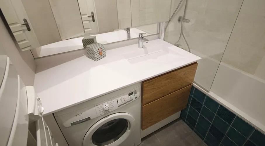 Solution Damnagement De Petite Salle De Bain Avec Lave Linge