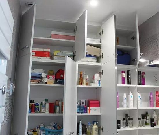 meubles fonctionnels pour salle de bains