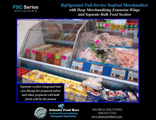 Atantic Food Bars - 26' Fresh Seafood Merchandiser with 4 wings and closed section for refrigerated bulk food - FSC31661-EW_Page_2
