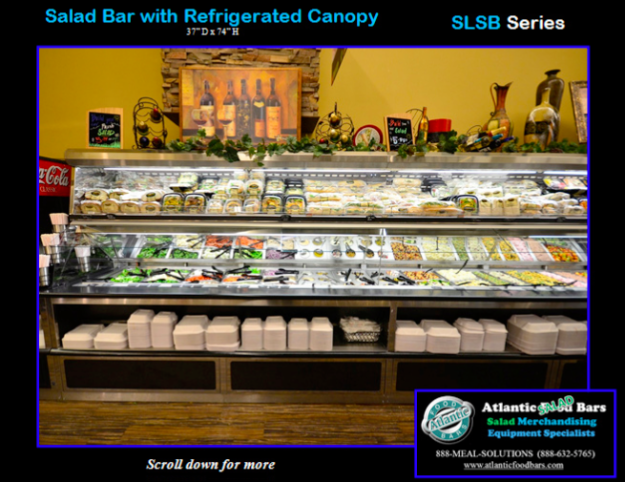 Atlantic Food Bars - Salad Bar and Soup's On with Refrigerated Canopy - SLSB19236 and SOG4836-RC_Page_3