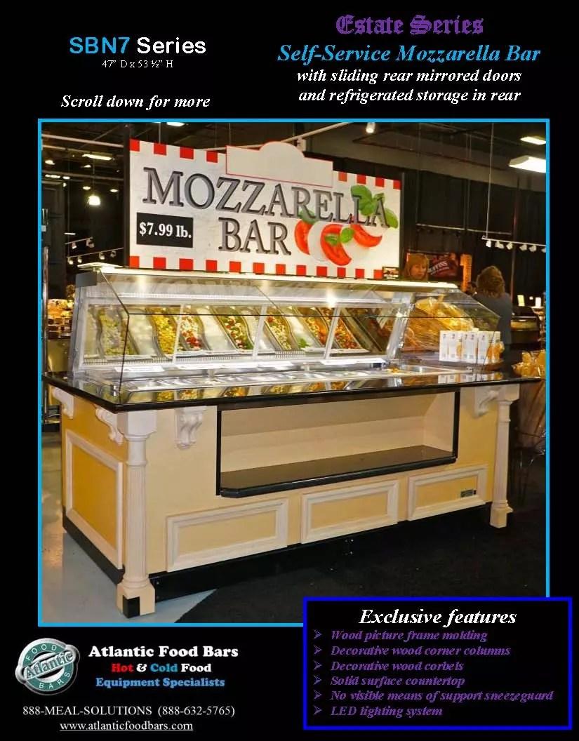 Atlantic food bars mozzarella bar estate series the for Food bar 2015