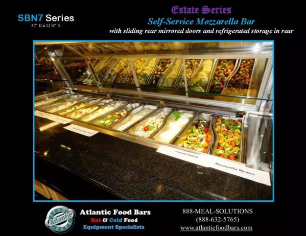 Atlantic Food Bars - Estate Series Self-Service Mozzarella Bar - SB9647N7-DCL-RSD-SC-VH 4