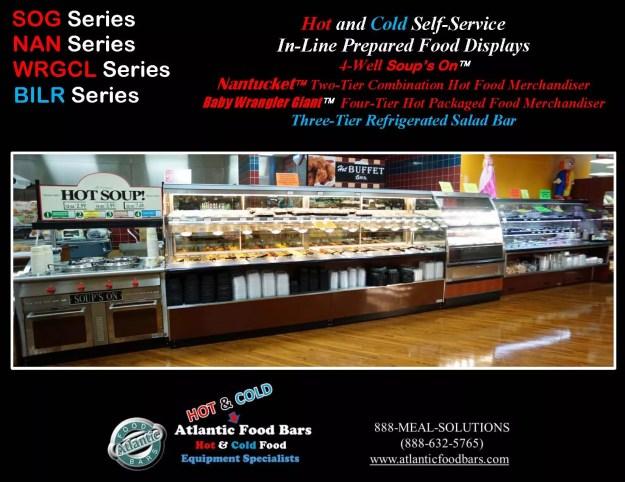 Atlantic Food Bars - Hot & Cold Prepared Foods Deli Lineup - WRGCL4837 SOG4836 NAN14436 BILR11734 1