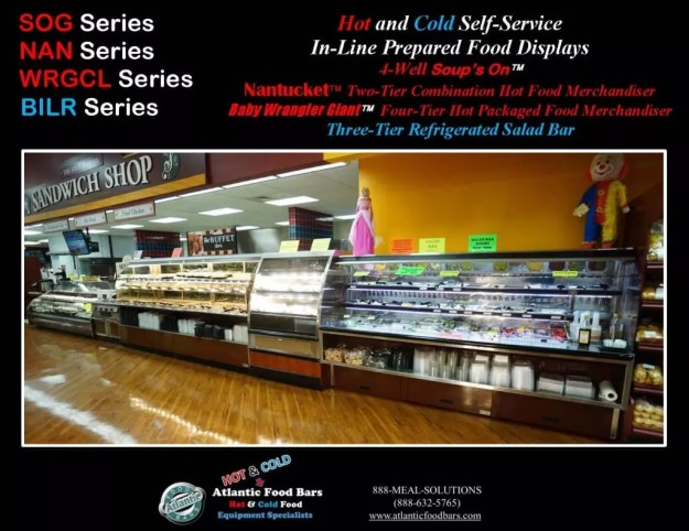Atlantic Food Bars - Hot & Cold Prepared Foods Deli Lineup - WRGCL4837 SOG4836 NAN14436 BILR11734 2