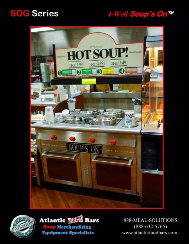 Atlantic Food Bars - Soup Bar - SOG4836