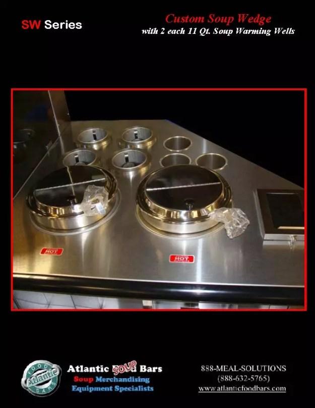 Atlantic Food Bars - Custom Wedge Soup Bar 2
