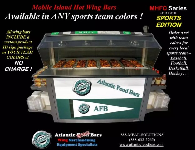 Atlantic Food Bars - Hot Wing Bar with Your Sports Team Colors - MHFC6044_Page_2