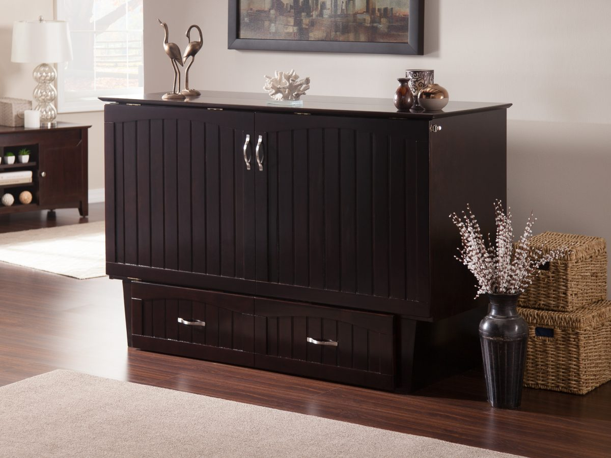 Nantucket Murphy Bed Chest With Charging Station