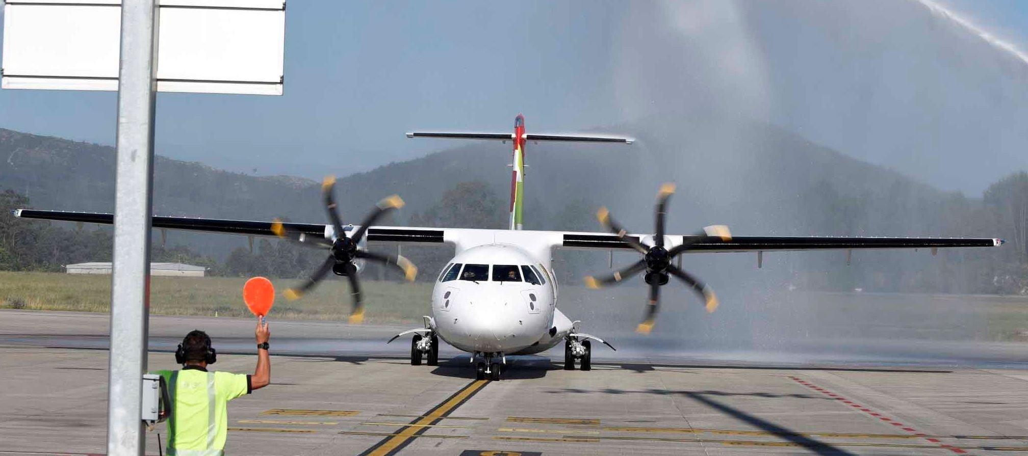 Resultado de imagen para Aeropuerto Vigo TAP
