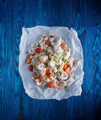 Χειροποίητα ζυμαρικά με θαλασσινά