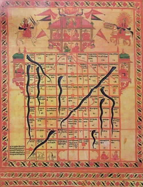 Papan permainan yang disebut ular tangga asalnya …