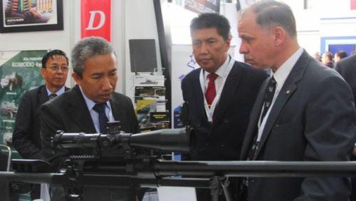 Senapan Sniper Made inBandung Dikagumi di Yordania