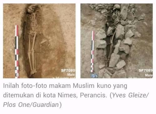 Arkeolog Temukan Pemakaman Muslim Tertua di Eropa