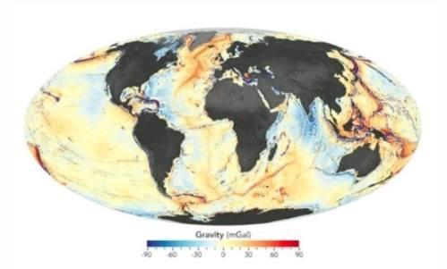 NASA Rilis Peta Dasar Laut