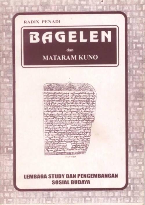 Bagelen dan Mataram Kuno