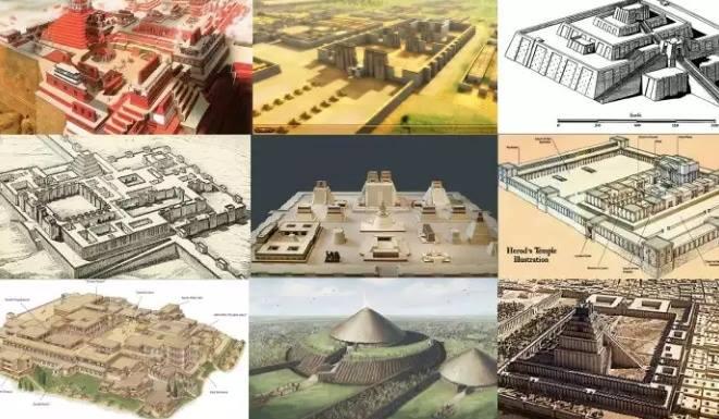 Rekonstruksi 10 Kota, Monumen dan Situs Suci Kuno. …
