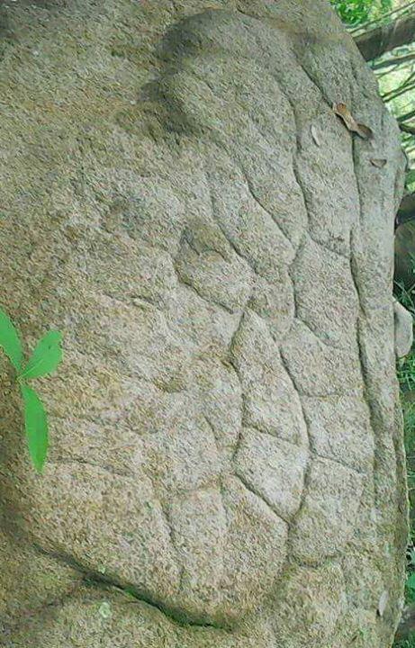 Susunan batuan situs yg di Tanjung bintang Lampung …