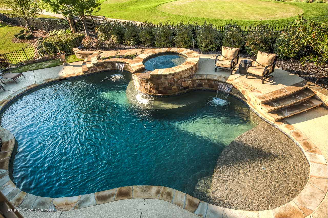 Water Features Atlantis Pools Amp Spas Llc