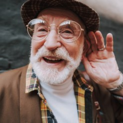 Hearing (from old age)