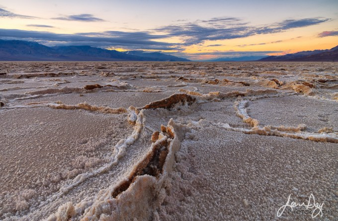 The exchange of heating and cooling causes the salt crystals to expand and push against each other. Here it reminded me of an open wound, or someone gathering his last breath. Death Valley is just too cool!
