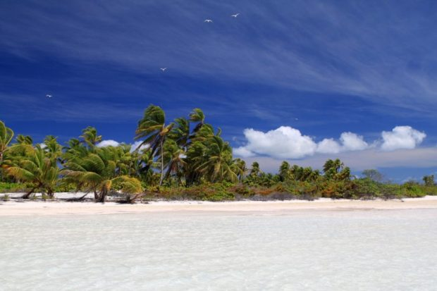 least visited countries in the world: kiribati