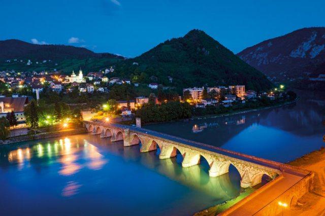 Vişegrad / Bosna Hersek: Drina Köprüsü – Atlas