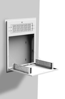 0025025 tilt out wall cabinets for 19 inch equipment 2ru