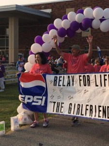 Mike & Therese Armstead at Relay for Life