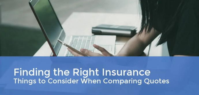 Finding the Right Insurance