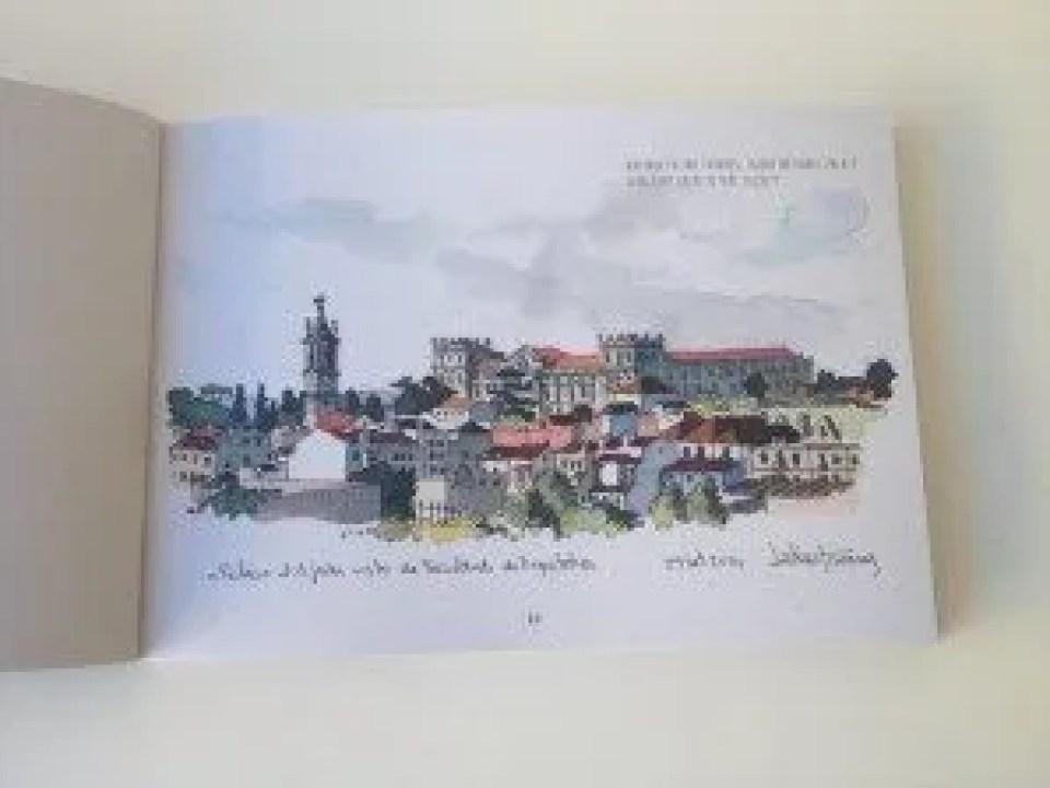 Ajuda National Palace by Antonio Latino Tavares of Urban Sketchers