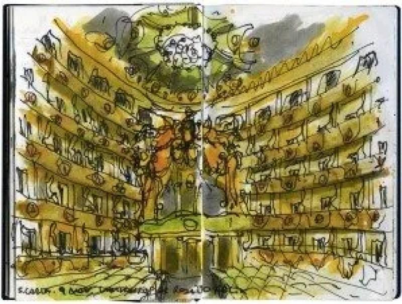 Inside the Colosseum by Eduardo Salavisa
