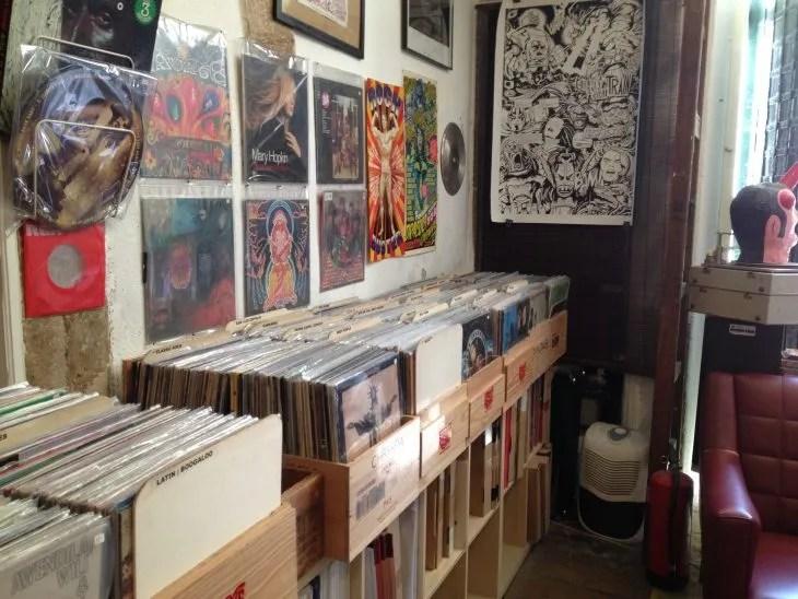 Groove Records Vinyl Shop Lisbon record store Lisboa