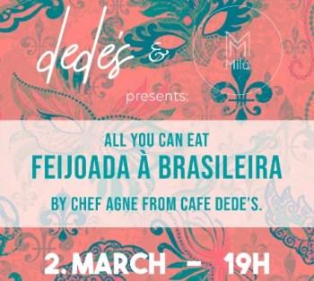 FOOD AND COSTUME PARTY | Carnaval Warm Up with All-You-Can-Eat Feijoada | Santos | 15€ @ Mercearia da Mila | Lisboa | Lisboa | Portugal