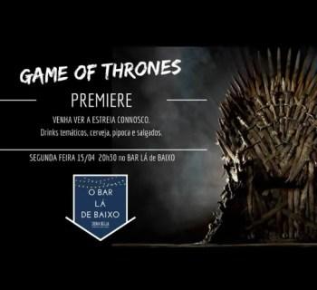 "TV SERIES SCREENING | ""Game of Thrones"" Final Season Premiere | Picoas | FREE @ O Bar Lá De Baixo | Lisboa | Lisboa | Portugal"