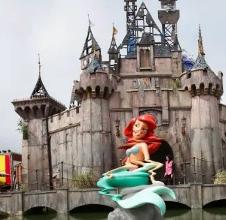 "to May 27 | PHOTOGRAPHY EXHIBIT | Banksy's ""Dismaland"" and Others, by Barry Cawston 